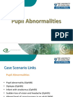 Ophthalmology v Pupil Abnormalities