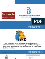 CURSO BETONEIRA