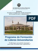 Programa Lideres Universitarios