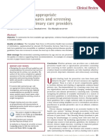CFP Preventative Care Update Feb 2016