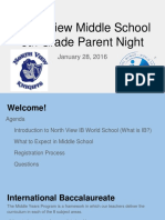 north view parent night