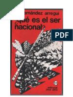 135901711 Que Es El Ser Nacionaljuan Jose Hernandez Arregui