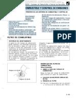 Manual Mantenimiento Periodico Sistemas Combustible Control Emisiones Componentes Motores Diesel Gasolina