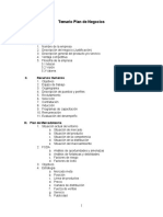 Manual Plan de Negocios 2012