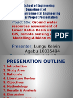 Final Yr Projekt Presentation Kebba