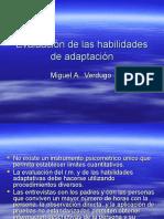 Evaluación de Las Habilidades de Adaptación