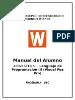Lenguaje de Programacion III Visual Fox Pro