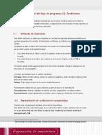 Lectura 2 - Control Del Flujo de Programas I - Condiciones