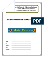 Lab 1 and 2 Matlab Tutorial
