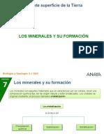 Formacion de Minerales