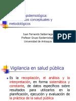 (1)Vigilancia Salud Publica