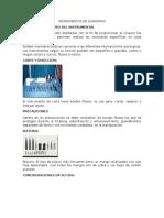 Instrumentos de Quirofano