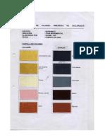 Paleta de Colores Barranco