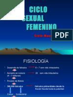 Fisiologia Del Ciclo Mentrual