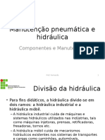 Manutenção Pneumática e Hidráulica