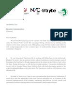 Team Arion Sponsorship Letter 2