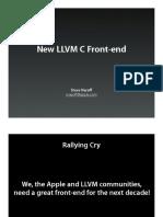LLVM-C Front-End