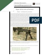 Ruger SR-22 Rifle de Revisión_ Parte 1 - Introducción y Resumen
