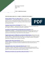 AFRICOM Related News Clips April 29, 2010