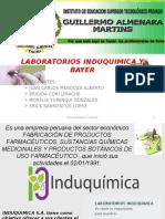 Laboratorios Induquimica y Bayer