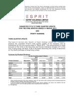 Esprit 3 Rdq Tr With Warning