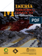 Mineria, Territorio y Conflicto en Colombia