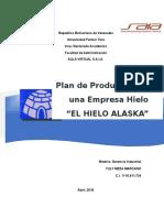 Trabajo de Proyecto Plan de Produccion