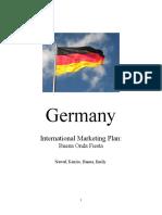 international marketing plan outline