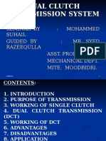 Dual Clutch Transmission Ppt