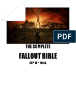 Fallout Bible Canonically Correct