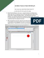 New Animation Methods Flash CS5