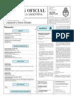 Boletín Oficial de la República Argentina, Número 33.344. 28 de marzo de 2016