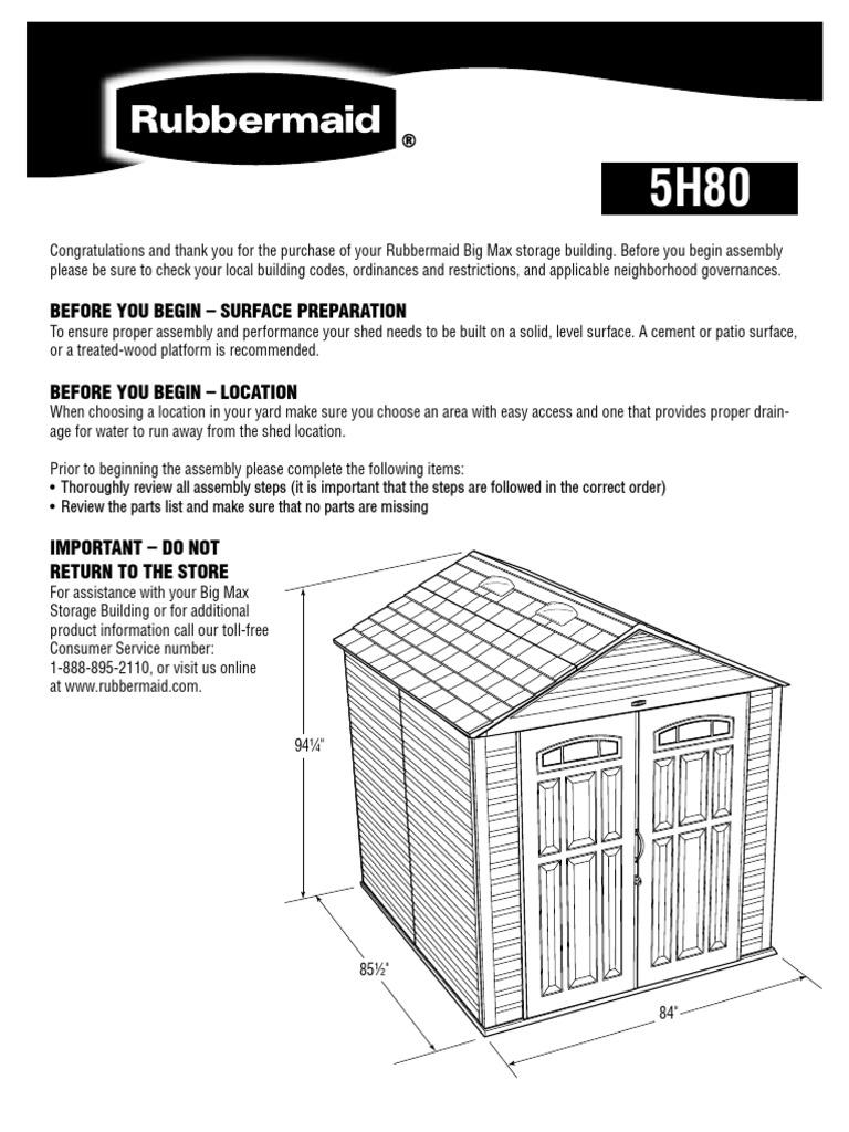 rubbermaid wiring diagrams cub cadet wiring diagrams wiring diagrams rubbermaid 5h80 (7'x7') assembly instructions   nut ...