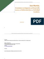 Análisis económico de la Deforestacion Coca