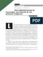 5. La Asociación Latinoamericana de Sociología