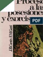 Cortés, J. B., Procesos a las Posesiones y Exorcismos