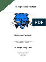 BHS Defensive Playbook