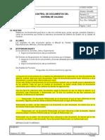 Ac004 Control de Documentos Del Sistema de Calidad Rev 13