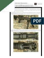 Ruger SR-22 Rifle de Revisión_ Parte 3 - Características Externas