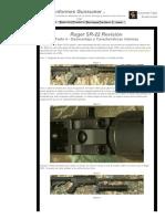 Ruger SR-22 Revisión_ Parte 4 - Desmontaje y Características Internas