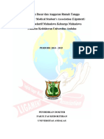 Anggaran Dasar Dan Anggaran Rumah Tangga Ligament 2014-2015