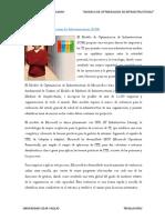 El Modelo de Optimizacic3b3n de Infraestructuras