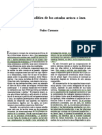 Economía Política Azteca e Inca