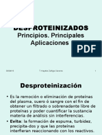 Desproteinizados y Ácido Úrico