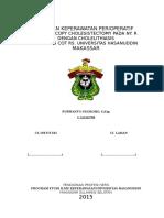 Askep Periop. Laparoscopy Dengan Dx Colelitiasis