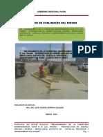 """Evaluación del Riesgo y Vulnerabilidad del PIP  """"Mejoramiento de la Carretera Departamental Ruta N° PI 126, Tramo"""