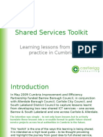 Guide to Shared Services Things to Remember