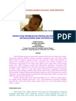 Penelitian Pembuatan Propelan DB NG dan NC
