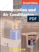 Refrigeration and Air conditioning (CP ARORA)