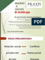 Arbitraje - Dr. Juan Rosario
